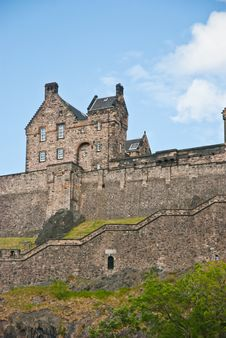 Free Edimburgh Castle Royalty Free Stock Photography - 19920197