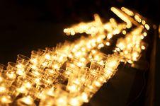 Free Candles At Night Royalty Free Stock Photos - 19920398