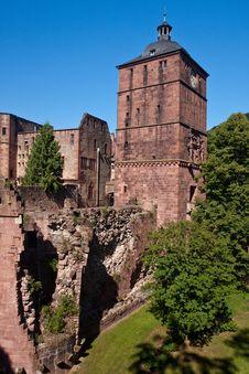 Free Heidelberg Castle Stock Image - 19920541