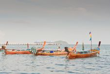Free Fishing Boats In Phuket Royalty Free Stock Photos - 19921308