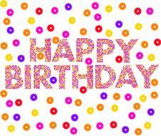 Free Happy Birthday Stock Image - 19921451