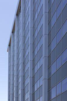 Glass Facade Of A Building Stock Photo