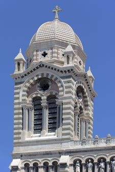 Free Detail Of La Major Cathedral In Marseille Stock Photo - 19921890