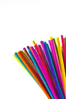 Free Incense Multicolored Stock Photography - 19921922