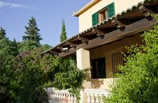 Free Traditional House In Majorca, Raw Royalty Free Stock Photography - 19922597
