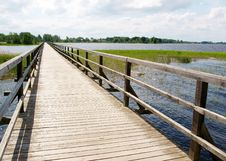 Free Wooden Bridge Royalty Free Stock Photos - 19923858