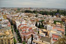 Free Panorama Of Central Seville Spain Stock Image - 19924351