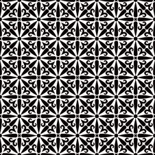 Free Black White Ornate Texture Royalty Free Stock Images - 19924549