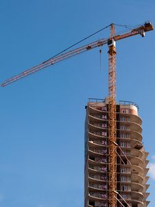 Free The Building Crane Stock Photography - 19925242