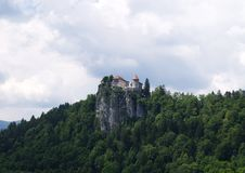 Castle Of Bled Royalty Free Stock Images