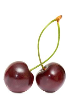Free Fresh Cherries Royalty Free Stock Image - 19925786