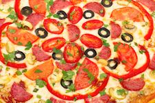 Free Pizza Italiano Stock Photography - 19925852