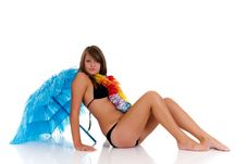 Free Teenager Girl In Bikini Royalty Free Stock Photos - 19926058