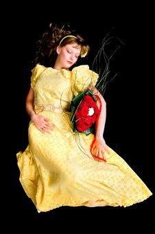 Free Sleeping Beauty Royalty Free Stock Photos - 19926068