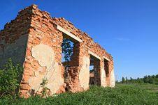 Free Destroyed Brick Stock Image - 19926381