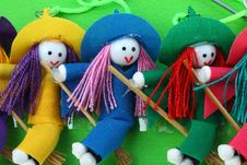 Free Snow Witch Doll Stock Photography - 19926442