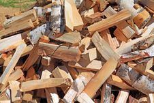 Free Firewood Royalty Free Stock Photography - 19926547