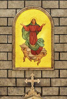 Free Virgin Mary Istanbul Stock Photo - 19927170