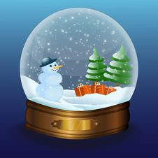 Free Snow Globe Royalty Free Stock Image - 19927546