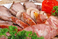 Free Meat And Sausages Stock Photos - 19927643