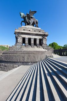 Free The Deutsches Eck Stock Photography - 19928212