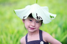 Free Chinese Lovely Girl Royalty Free Stock Photography - 19928497