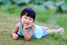 Free Chinese Lovely Girl Stock Photo - 19928760