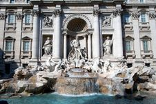 Trevi Fountain. Stock Image