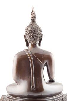 Back Of Buddha Royalty Free Stock Image