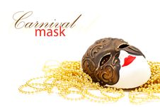 Free Mask With Bead Stock Photos - 19929483