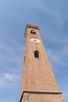 Free The Clock Tower In Santarcangelo Di Romagna Royalty Free Stock Photos - 19929528