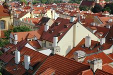 Free The Roofs Of Prague Stock Photography - 19929562
