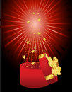 Free Christmas Card Gift Background Vector Illustration Stock Image - 19934931