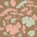 Free Floral Seamless Pattern Royalty Free Stock Images - 19937149
