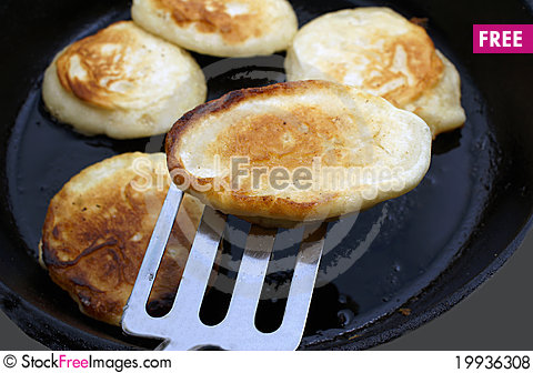 Free To Prepare Fritters. Royalty Free Stock Photos - 19936308