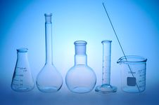 Free Laboratory Glass Royalty Free Stock Photo - 19930135