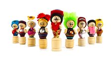 Free Thai Culture Dolls Royalty Free Stock Photography - 19930527