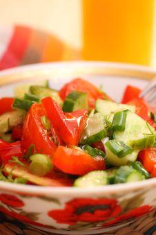 Free Fresh Vegetable Salad Royalty Free Stock Photo - 19931255