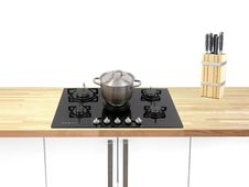 Cook Top Royalty Free Stock Photo