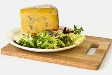 Free Blue Cheese And Salad Royalty Free Stock Photography - 19931977