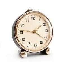 Free Old Desktop Alarm Clock Stock Photos - 19932393