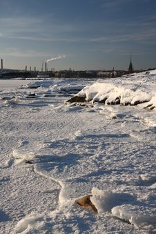 Free Frozen Sea Stock Image - 19933541