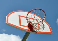 Free Basketball Hoop Royalty Free Stock Image - 19933626