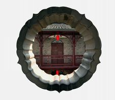 Free The Ancient Chinese Garden House Royalty Free Stock Photos - 19933938