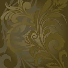 Free Brown Floral Background Royalty Free Stock Photo - 19934385