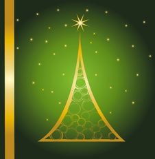 Free Christmas Card Gift Background Vector Illustration Royalty Free Stock Image - 19934956