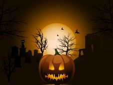 Free Halloween Background Royalty Free Stock Photos - 19935398
