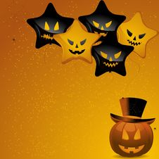 Free Halloween Balloons Stock Images - 19935404