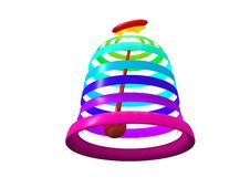 Free Multicolored Easter Bells Stock Photo - 19935790