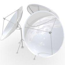 Free 3d Satellite Dish Stock Image - 19935901